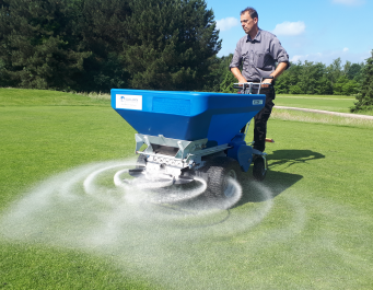 Apply granular materials with Ecolawn Applicator