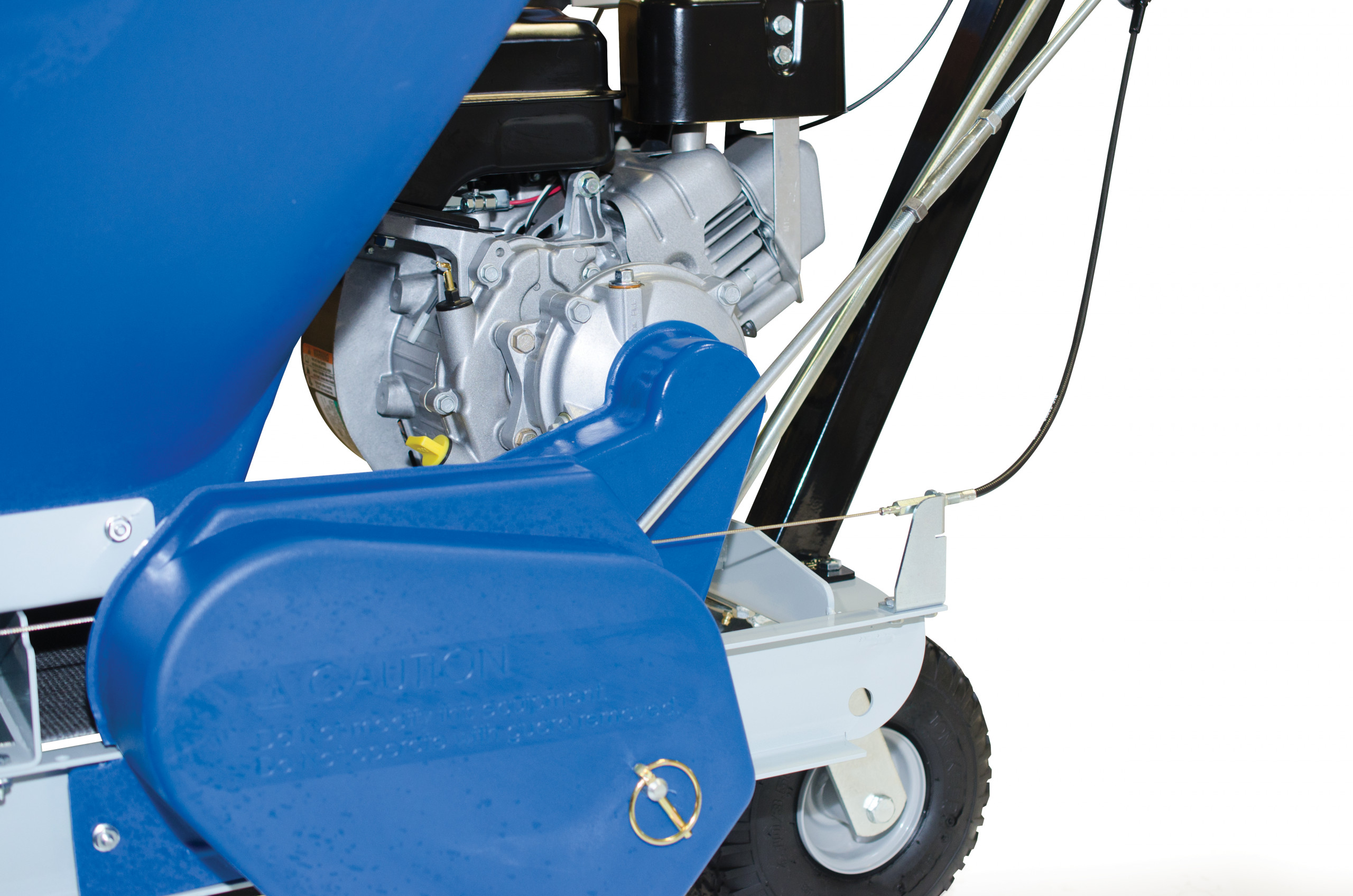 ECO 150 fine-tuning flap adj with clutch side view